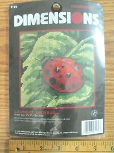 Dimensions Needlecrafts 7170 Needlepoint Ladybug Ladybug