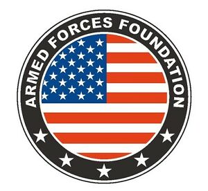 Armed Forces Foundation >> Details About Armed Forces Foundation Vinyl Decal Sticker Military Armed Force R299