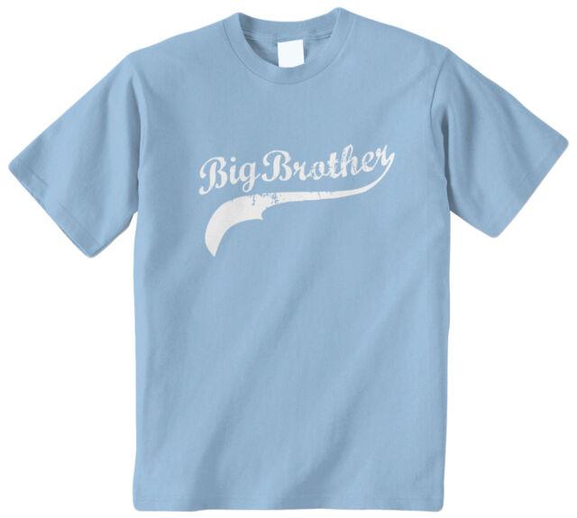 Big Cousin Baseball Script Kids Toddler T-Shirt Tee Cuz Family Cute Boy Girl