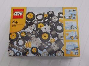 Nouveau: Lego 6118 - Essieux de jantes = 106 pièces Roues