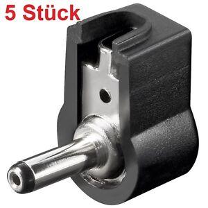 DC-Strom-Stecker-Stromstecker-fuer-Netzteile-zum-Loeten-Loetversion-1-3mm-x-3-45mm