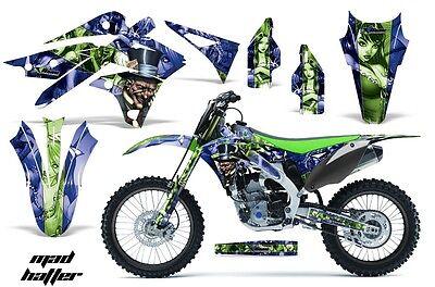 Dirt Bike Graphics Kit Decal MX Wrap For Kawasaki KX250F 2013-2016 BONES BLACK