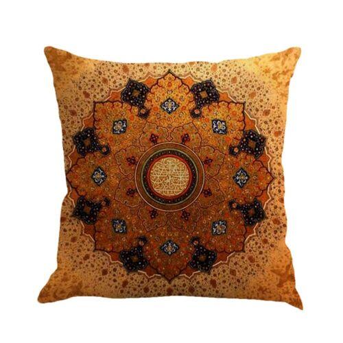 Geometric Pattern Linen Pillow case Car Sofa Waist Cushion Cover Home Decoration