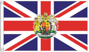 VE-DAY-Flag-Royal-Coat-Of-Arms-5-039-x3-039