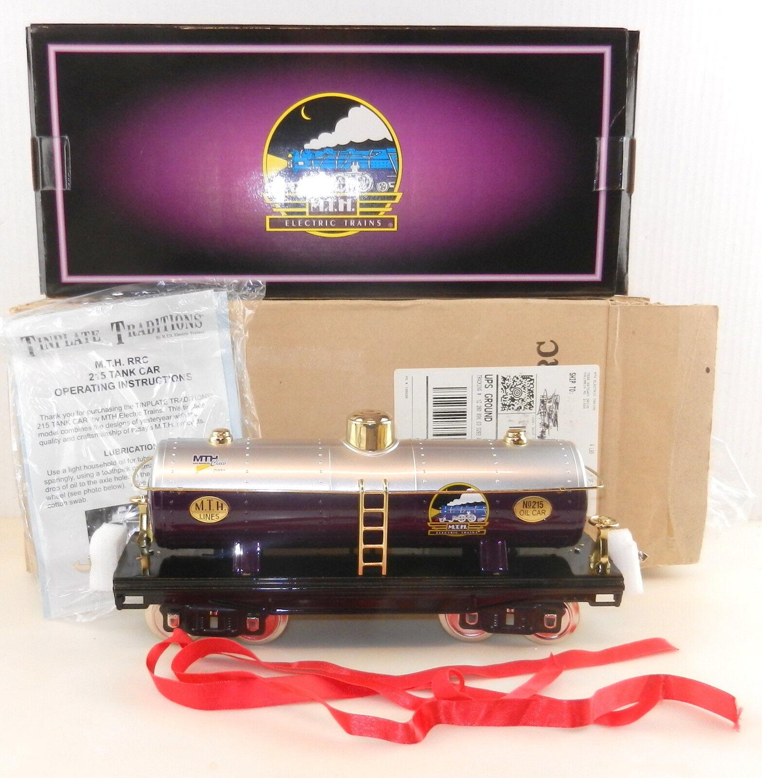 MTH Hojalata  10-1127  serie 200  Calibrador de estándar de coche del tanque Con Caja Excelente