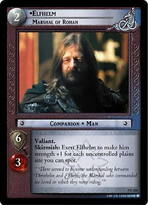 Lord of the Rings CCG Return of the King 7R233 Grimbold Marshal of Rohan LOTR