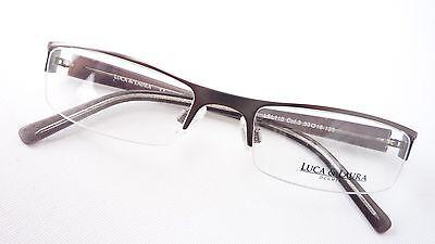 Temperamentvoll Brille Gestell Schmal Ohne Unterrand Damenfassung Herrenbrille Graubraun Gr S