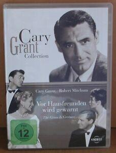 DVD Cary Grant - Vor Hausfreunden wird gewarnt - FSK 12