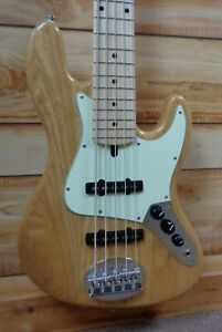 New-Lakland-Skyline-55-60-Vintage-J-5-String-Electric-Bass-Natural