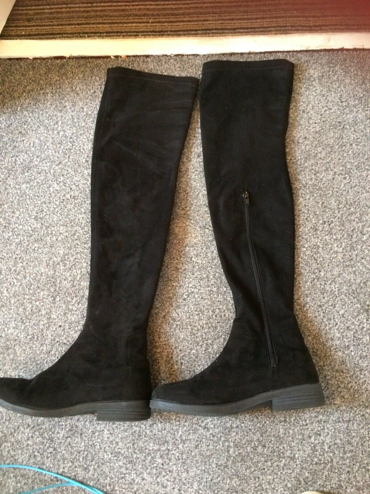 Office Brand Over The Knee Boots Flat Size 6