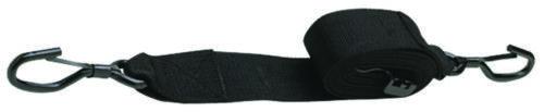 "Boat Marine Gunwale Trailer Tie Down Strap 10/' Length 2/"" Wide Black"