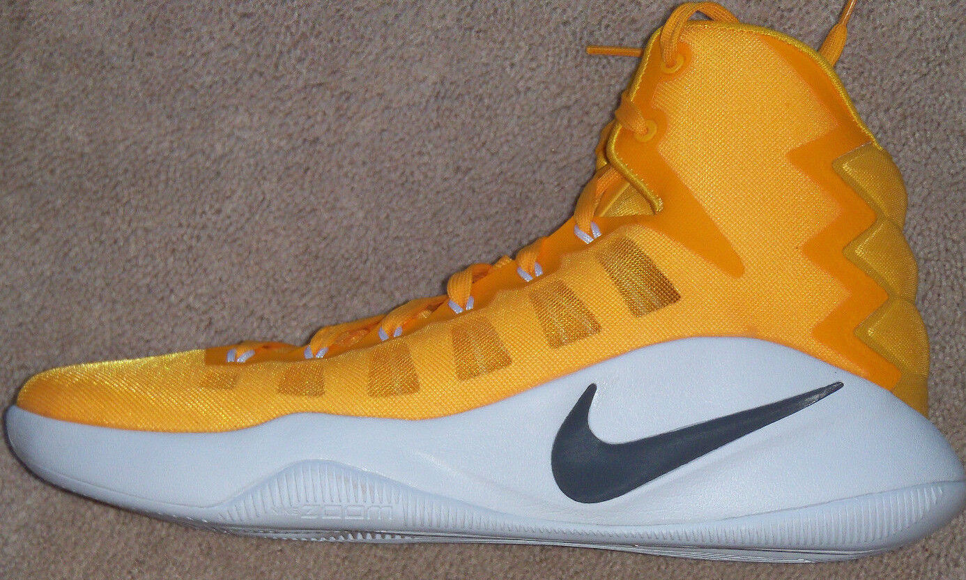 65a1f94a016 NEW NEW NEW Mens Nike Hyperdunk 2016 TB Promo Basketball Shoes University  Gold White 841709