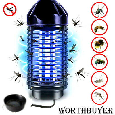 Electric UV Light Zapper Fly Bug Mosquito Killer Home Insect Trap Lamp EU//US F6