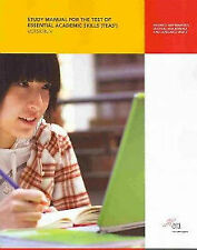 Study Manual for the Test of Essential Academic Skills, Version 5: Reading, Mat