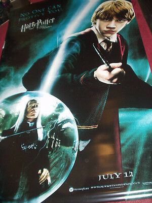 Cinema Banner: HARRY POTTER ORDER OF THE PHOENIX 2007 (Ron)