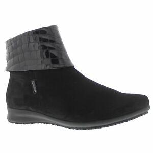 Mephisto-Fiducia-Black-Womens-Nubuck-Comfy-Fashionable-Folded-Collar-Ankle-Boots