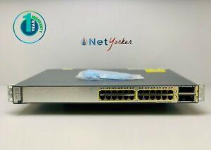 Cisco-WS-C3750E-24TD-S-24-Port-Gigabit-Ethernet-Switch-1-YEAR-WARRANTY