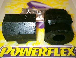 2-Powerflex-Pu-Buchsen-VW-Polo-86-75-94-Stabilisator-18mm-Vorderachse-85-105blk