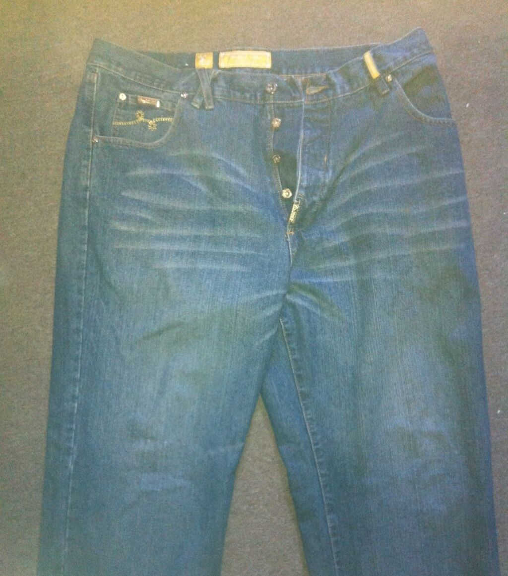 VINTAGE L-R-G LIFTED RESEARCH GROUP goldEN CHALLIS JEANS SIZE 38 PANTS