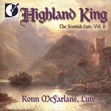 Ronn McFarlane - Highland King: Scottish Lute 2 [New CD]
