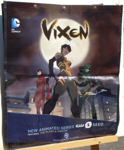 VIXEN-SDCC-BAG-Tote-Swag-2015-19x23-San-Diego-Comic-Convention