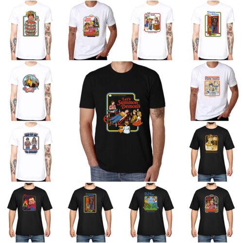 Lets Summon Devil Printed Men/'s Cotton T-shirt Athletic Short Sleeve summer Tee