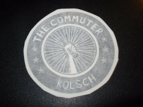 OFF COLOR BREWING Chicago Commuter Kolsch STICKER decal craft beer brewery