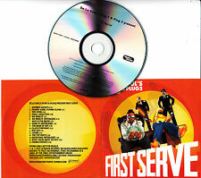 DE LA SOUL'S PLUG1 & PLUG2 Present First Serve 2012 UK 16-track promo test CD