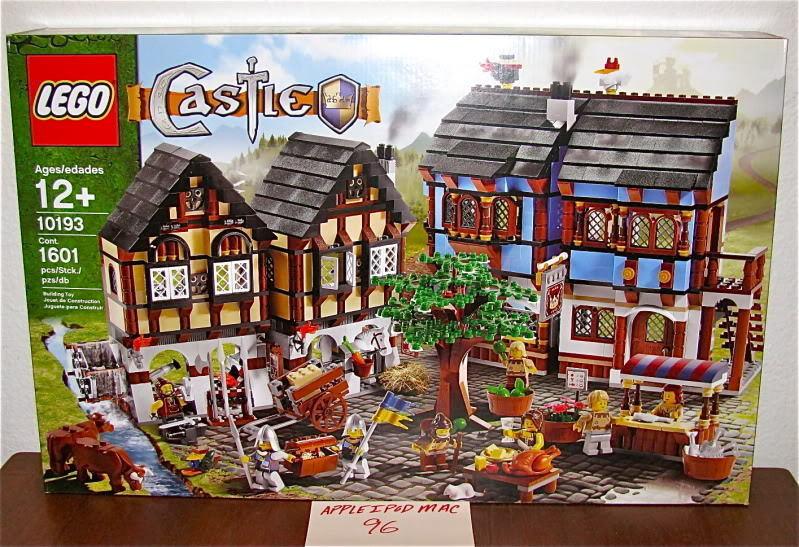 Nuevo Sellado Lego 10193 Castillo Medieval Caballero del mercado casa de pueblo reinos