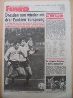 FUWO 45 - 6.11. 1979 * Jena-Aue 3:0 HFC-BFC 3:1 Union-Riesa 2:0 Erfurt-C.Leipzig