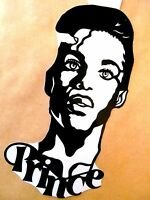 "PRINCE, Original Pop Art, Vinyl decal sticker Sticker 4""X 7½"" inches Portrait"