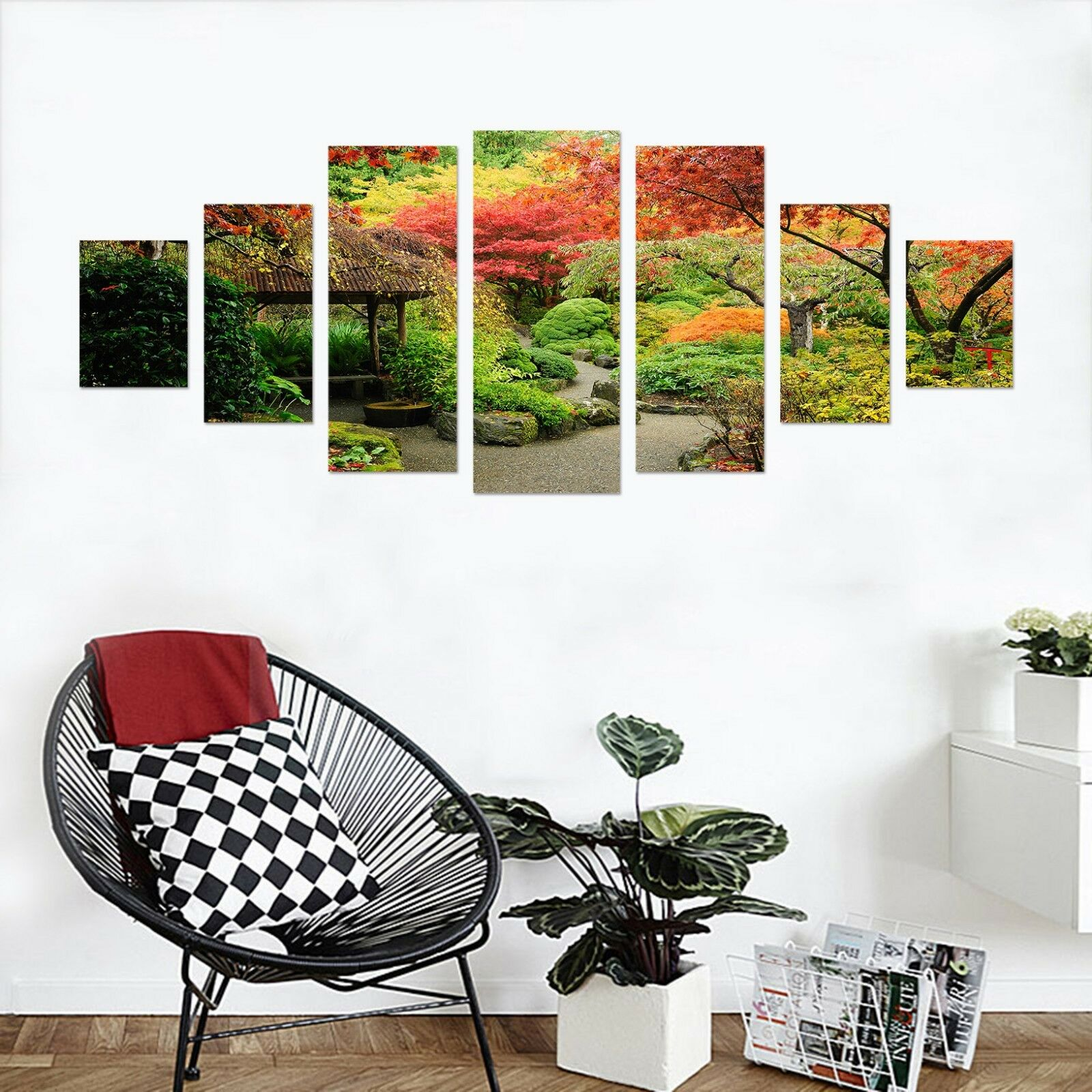 3D Forest Garden 66 Unframed impression Wall Paper Decal Wall Deco Indoor AJ Wall