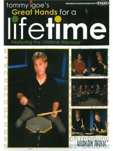 Tommy-Igoe-Great-Hands-For-A-Lifetime-Learn-to-Play-Lesson-Drums-Tutor-MUSIC-DVD