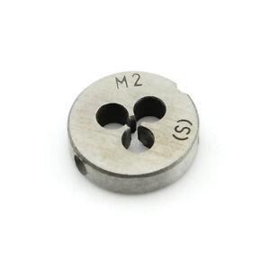 Metric Die Wrench Set Fine Pitch Thread Machine M5*0.5 Round Dies