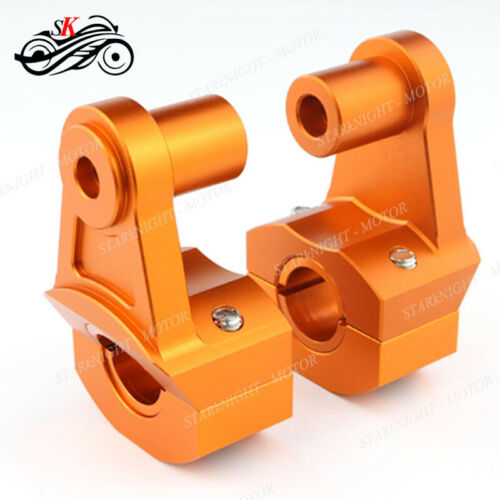 Handle Fat Bar Mount Clamp Riser For Yamaha MT09 MT07 FZ6 TMD900 FJ09 FZ09