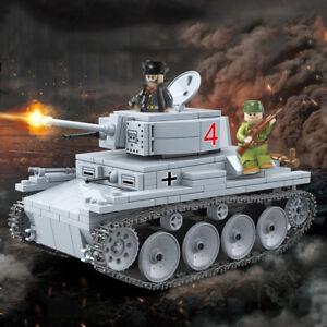 535pcs-LT-38-Leichter-Panzer-Tank-Modell-mit-Soldat-Figuren-Bausteine-Spielzeug