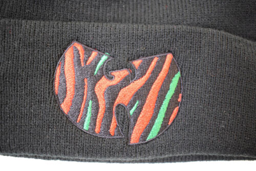 """Actual Fact Shaolin /""""W/"""" x Tribe Called Quest Marauders Hip Hop Beanie Wooly Hat"""