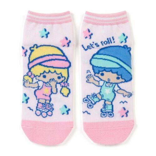 Little Twin Stars Kiki Lala Socks Roller Skate Sanrio Japan 23-25cm