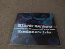 BLACK GRAPE & JOE STRUMMER & KEITH ALLEN - ENGLAND'S IRIE (CD SINGLE)
