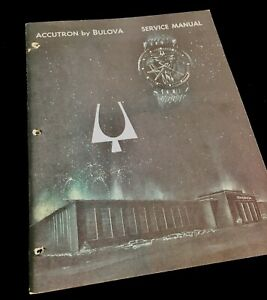 Early-1964-edition-Bulova-Accutron-214-Service-Manual-36-pages-tuning-fork-watch