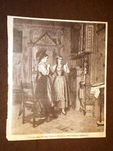 Moda-e-costume-in-Svizzera-nel-1864-Donne-di-Appenzell