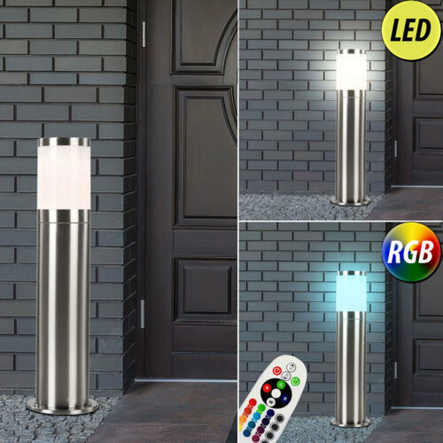 LED Luci Esterne PIANTANA dimmerabile lampade parete Up Down FARETTO RGB TELECOMANDO