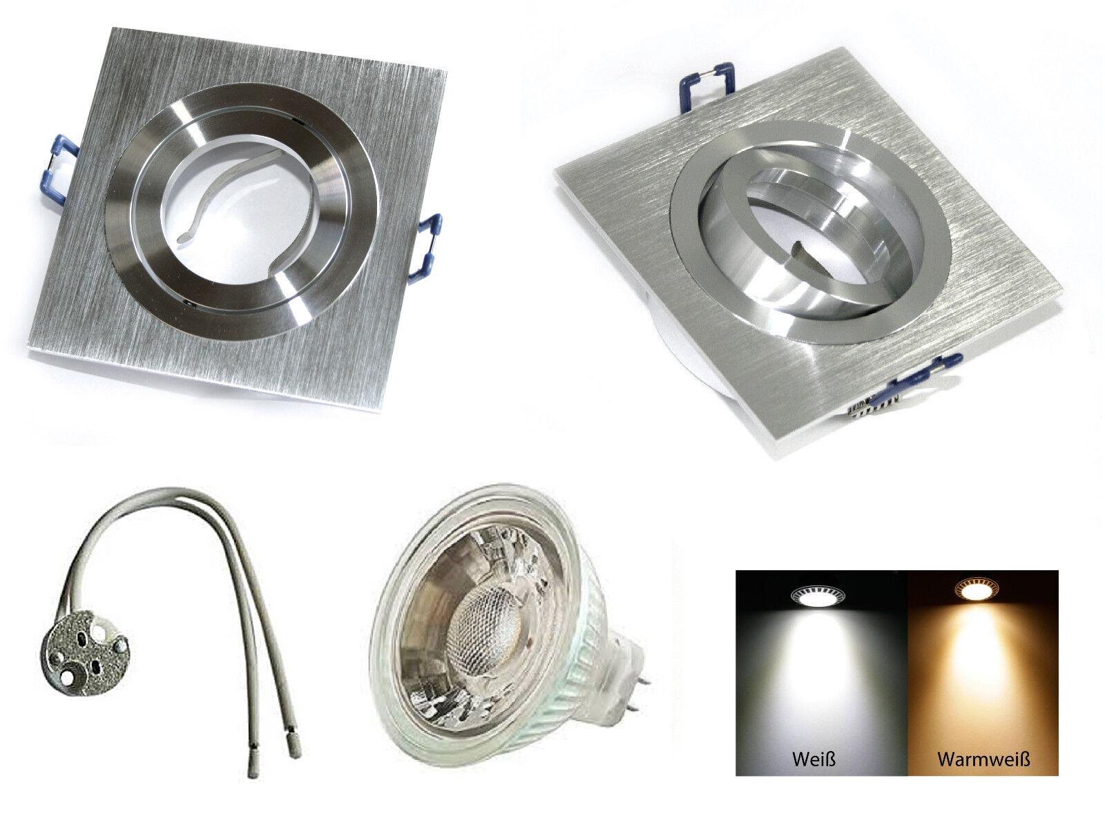 12 Volt LED Einbaustrahler Lenard MR16 5 Watt = 35 Watt High Power