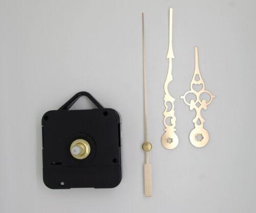 9,8cm aiguilles dorées 6,80 mouvement horloge pendule quartz DIY