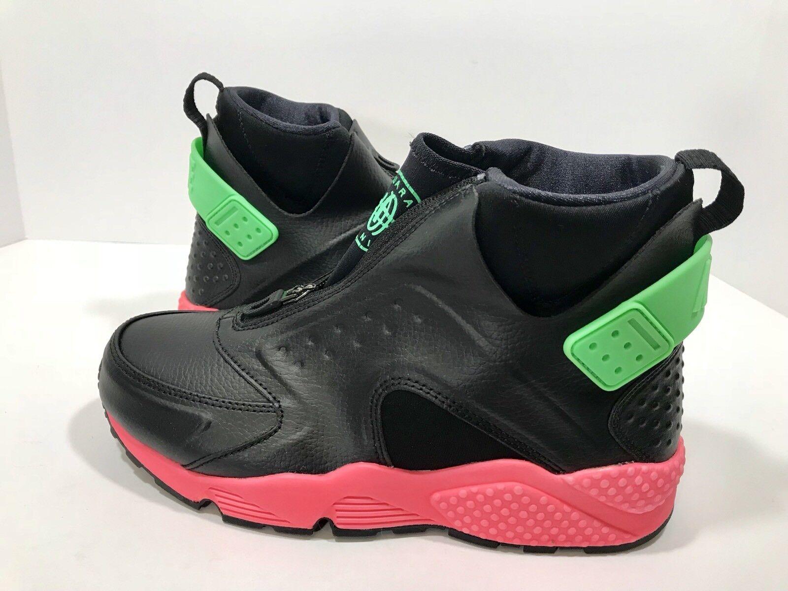 New  Nike Air Huarach  Run Mid nero  Hot Punch donna 65533;s Dimensione 8 scarpe 807313 -003  prezzi bassi di tutti i giorni