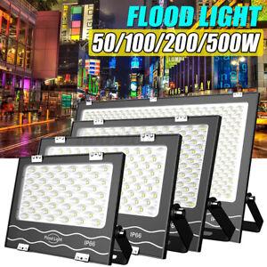 100-200-500W-LED-Sicurezza-Proiettore-Flood-Luci-Giardino-Esterno-Impermeabile