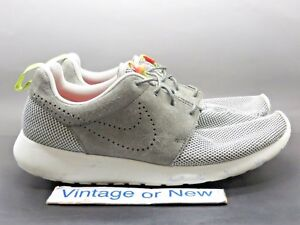 hot sale online 01dd9 f4baf Details about Men's Nike Roshe Run Dusty Grey Dusty Pewter Running Shoes  511881-009 sz 11.5