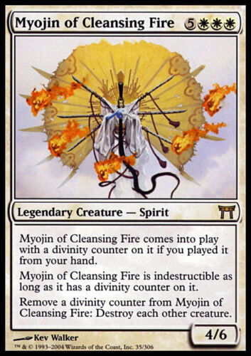 Myojin of Cleansing Fire MTG MAGIC CHK Eng EXC Myojin del Fuoco Purificatore