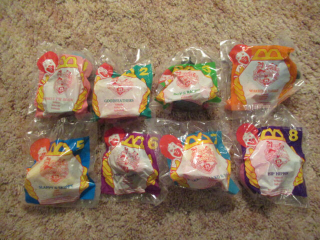 1994 MCDONALD'S HAPPY MEAL ANIMANIACS TOYS (COMPLETE SET OF 8) NEW