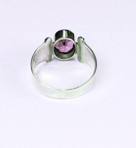 Ring Silber 925 echter Amethyst Sterlingsilber Handarbeit